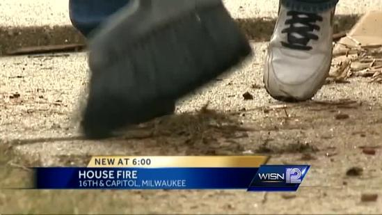 Fire damages home of former mayor