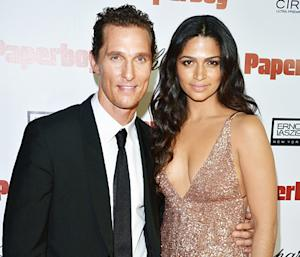 "Camila Alves, Matthew McConaughey Baby Son Livingston Is ""Big"" and ""Happy"""