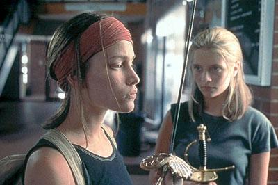 Piper Perabo and Mischa Barton in Lions Gate's Lost and Delirious