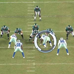 Good technique help the Dallas Cowboys' defense stop the Philadelphia Eagles