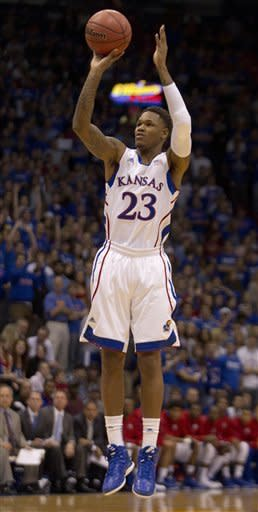 McLemore leads No. 7 Kansas past Mocs, 69-55