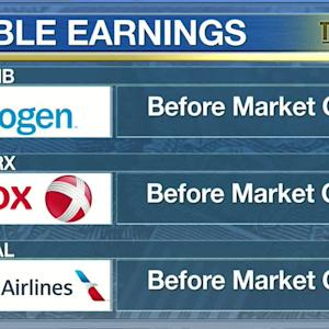 Biogen, American Airlines: What to Watch on Wall Street April 24