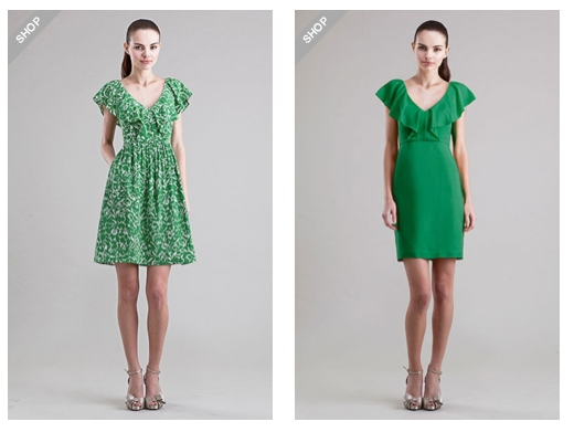 loverly evergreen dress