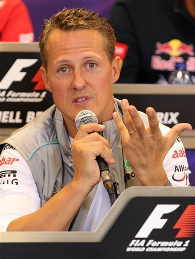 Schumacher to reach 300-race mark in Spa