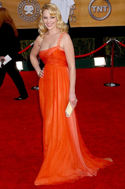 Katherine Heigl at the 13th Annual Screen Actors Guild Awards.