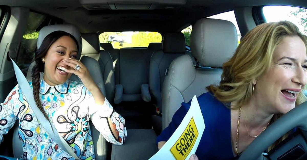 Ride Along with Ana Gasteyer & Tia Mowry-Hardrict