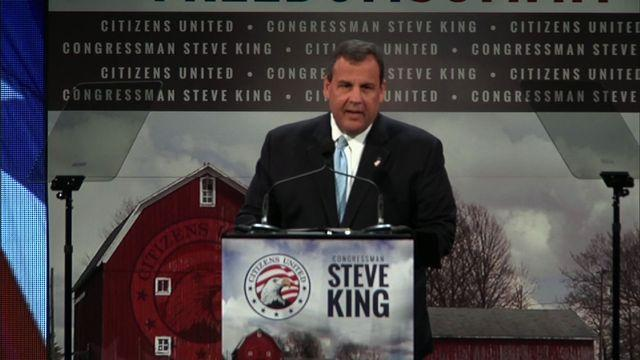 "Christie in Iowa: ""Why do you people keep inviting me back?"""