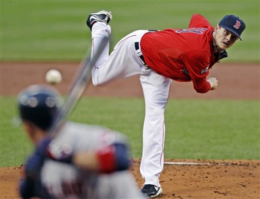 Pedroia, Buchholz lead Red Sox past Indians 7-5