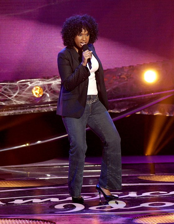 Jennifer Hudson performs on season 3 of &quot;American Idol.&quot;