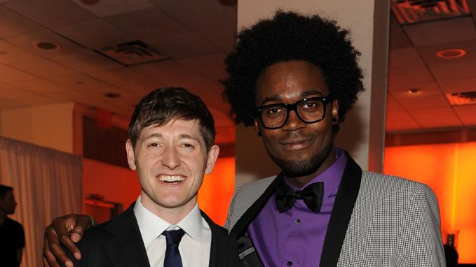 Lucas Neff and Echo Kellum