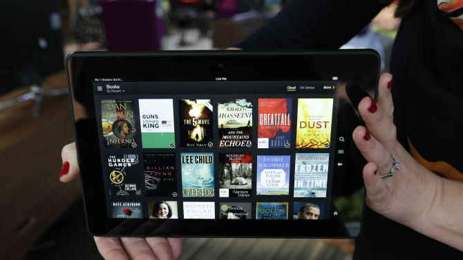 Amazon rolls out 'Netflix-for-books' style service