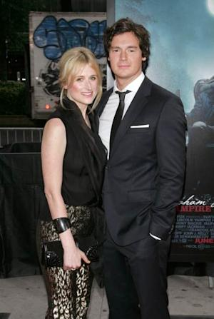 Mamie Gummer and Benjamin Walker attend the 'Abraham Lincoln: Vampire Hunter' premiere at AMC Loews Lincoln Square on June 18, 2012 in New York City -- Getty Images
