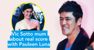Vic Sotto mum about real score with Pauleen Luna