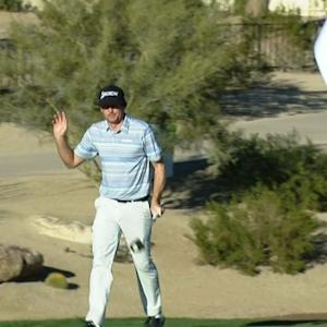 Keegan Bradley holes monster putt for birdie at Waste Management