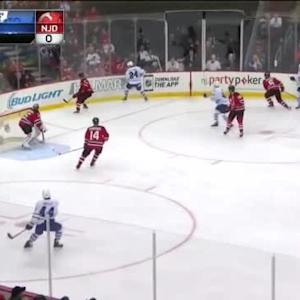 Andy Greene Hit on David Clarkson (05:43/3rd)