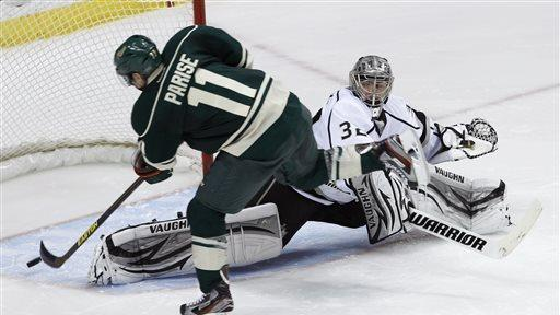 Koivu scores in shootout as Wild beat Kings 4-3