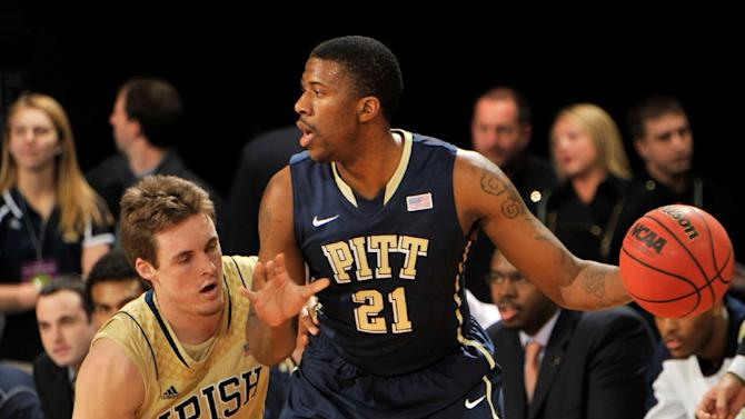 Patterson leads Pitt to 85-81 OT win over Irish