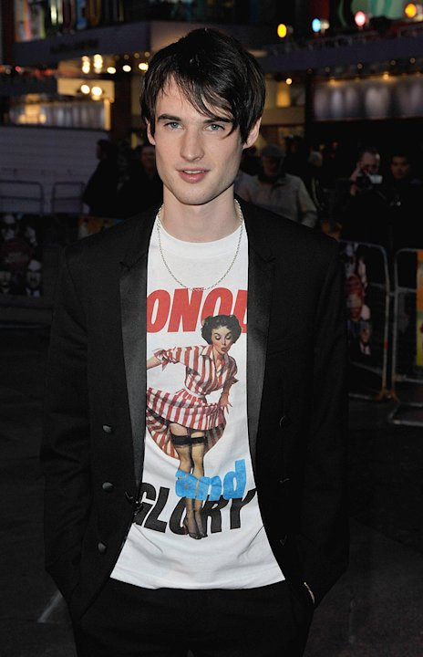 The Boat the Rocked UK Premiere 2009 Tom Sturridge