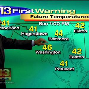 Meteorologist Tim Williams Has Your Overnight Weekend Forecast