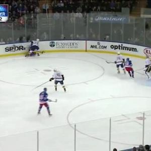 Cody Franson Hit on Tanner Glass (08:54/2nd)