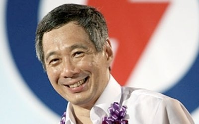 PM Lee Hsien Loong launched the PAP's manifesto on Sunday, ahead of the General Election. (AFP file photo)