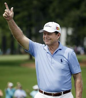 Champions Tour players expect wet, cool weather
