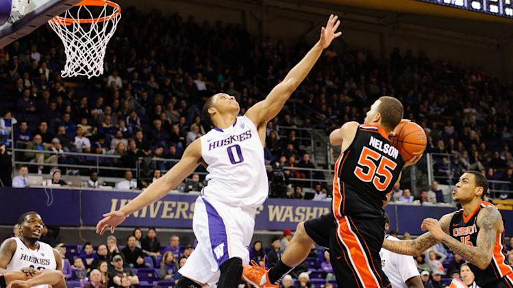 NCAA Basketball: Oregon State at Washington