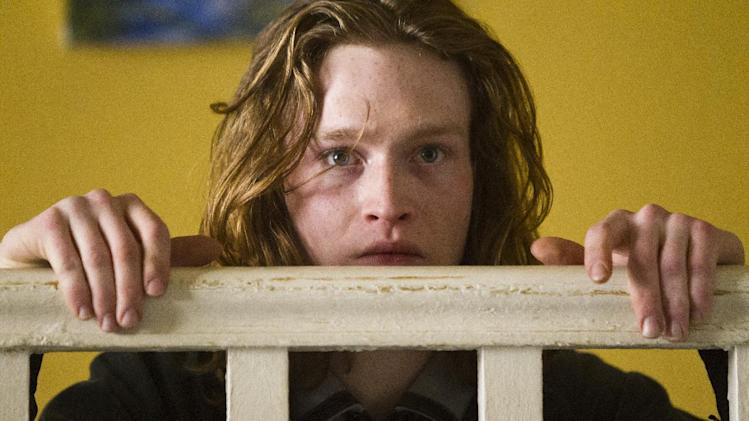 "This film image released by IFC Films shows Caleb Landry Jones in a scene from ""Byzantium."" (AP Photo/IFC Films, Patrick Redmond)"