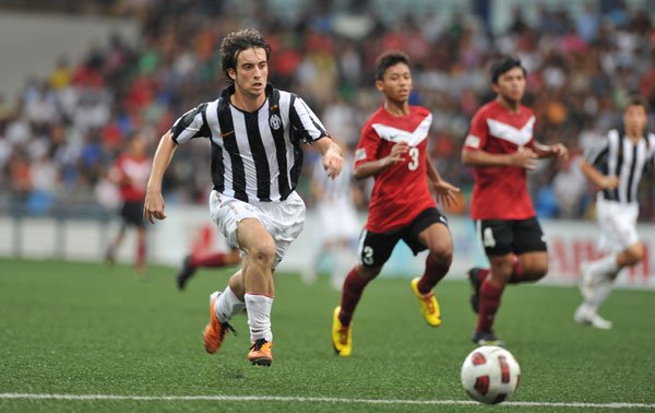 Juventus's Nicholas Varetto shows why he's so highly rated. (Photo by Muse PR)