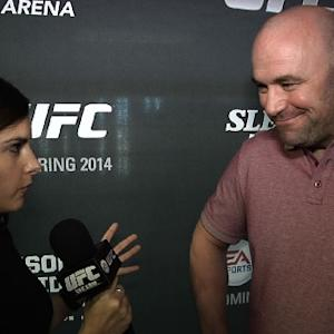 UFC on FOX 9: Dana White Press Day Interview