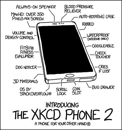 Would You Buy This XKCD Humorous Phone 2 Smartphone?