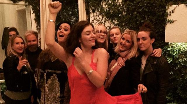New Bad Blood? Taylor Swift's Besties Lorde and Ellie Goulding Hang With Katy Perry
