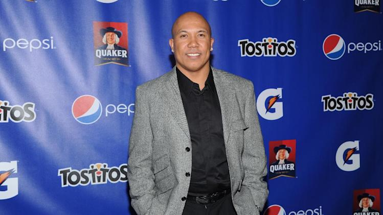 IMAGE DISTRIBUTED FOR PepisCo - Former NFL player Hines Ward attends  the PepsiCo Pre-Super Bowl Party, at Masquerade Night Club, on Friday, Feb. 1, 2013 in New Orleans. (Photo by Evan Agostini/Invision for PepsiCo/AP Images)