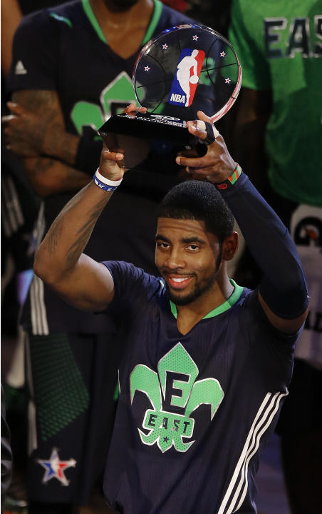 NBA All-Star MVP Irving sets sights on playoffs