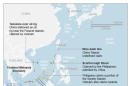 Map shows the South China Sea and territorial claims.; 3c x 5 inches; 146 mm x 127 mm;