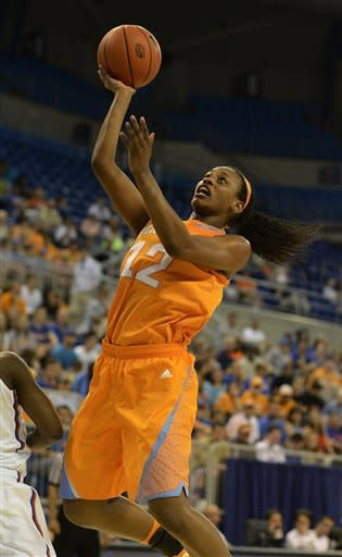 No. 9 Tennessee holds off Florida 78-75 in OT