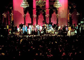 The big concert in United Artists' The Last Waltz