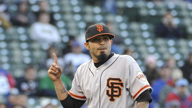 San Francisco Giants v Chicago Cubs