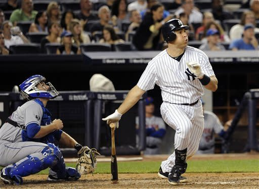 Teixeira, Hughes lead Yankees past Mets 4-2
