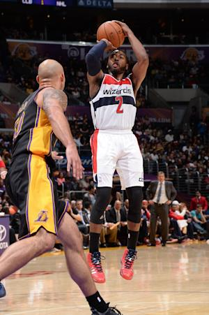 Wizards end 2-game stumble with win over Lakers