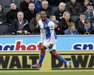 Queens Park Rangers have signed out-of-contract Blackburn Rovers winger Junior Hoilett, pictured here in March 2012, on a four-year deal, the Premier League team confirmed on Friday