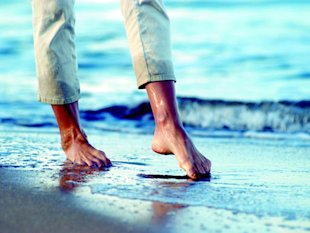 Are you steps away from injury? Ask your feet.