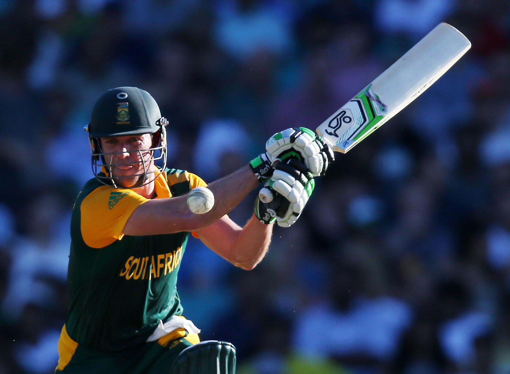 De Villiers leads South Africa to big win over West Indies