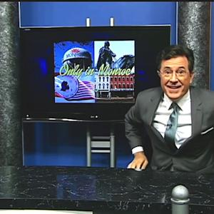 Stephen Colbert Hosts Random Public Access Show, Reads Yelp Review, Paints Nails