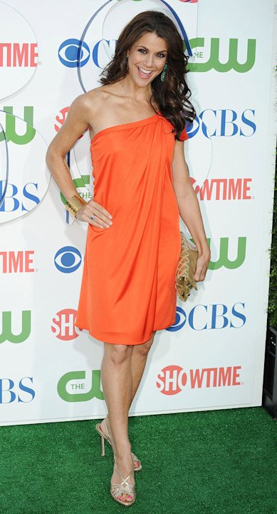 Samantha Harris attends the 2010 CBS Summer Press Tour Party at The Tent on July 28, 2010 in Beverly Hills, California.