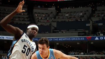 Nuggets end Grizzlies' streak at 8 with 97-92 win