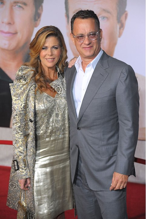 Old Dogs LA premiere 2009 Rita Wilson Tom Hanks