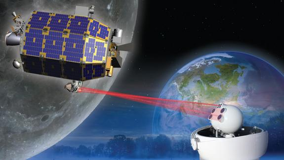 Zap! NASA Laser Breaks Space Communications Record