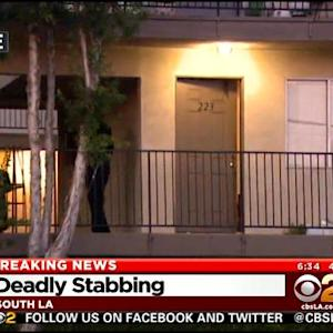 LAPD: Man Fatally Stabs Ex-Wife's Boyfriend In South LA Apartment