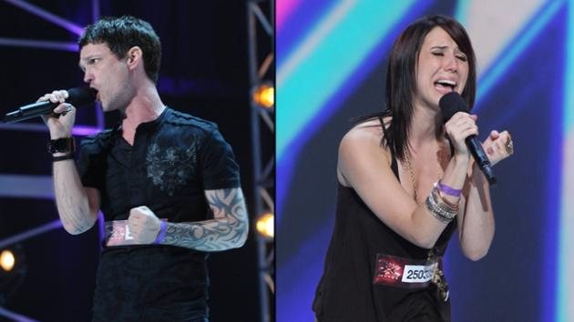 Jeffrey Gutt, Jillian Jensen from 'The X Factor,' Season 2 -- FOX